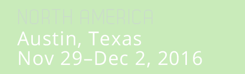 Node.js Interactive North America, Austin, Texas, November 29 - Dec 2, 2016